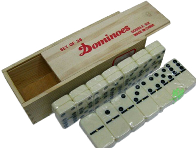 Marked dominoes